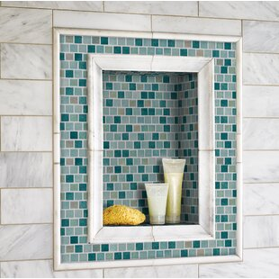 Green Glass Tile Youll Love Wayfair - Green-glass-bathroom-tile