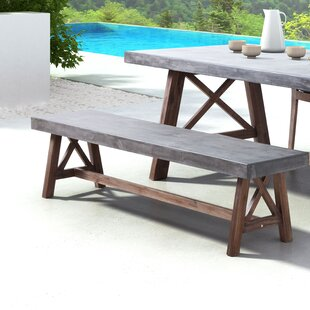 Sham Wood Dining Bench