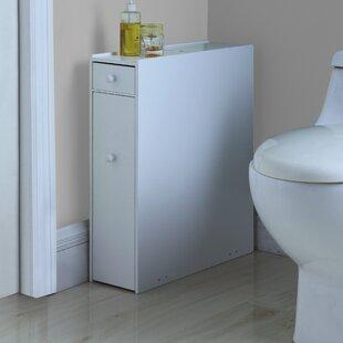 Elspeth 22 75 H X 6 25 W Bathroom Floor Cabinet