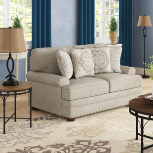 Farmington 66 Recessed Arm Loveseat