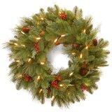 """Noelle 24"""" Pre-Lit Wreath"""