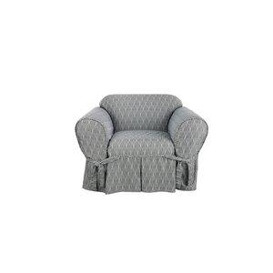 Strand Waverly Box Cushion Armchair Slipcover