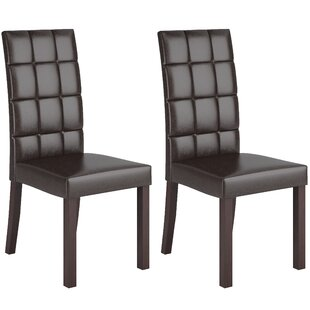 Wrought Studio Admer Parsons Chair (Set of 2)