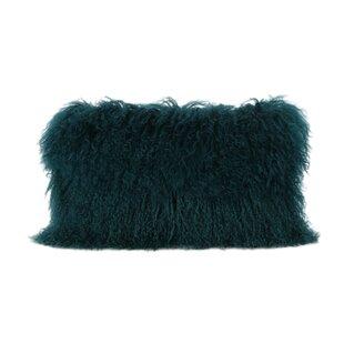 Kingstowne Fur Lumbar Pillow