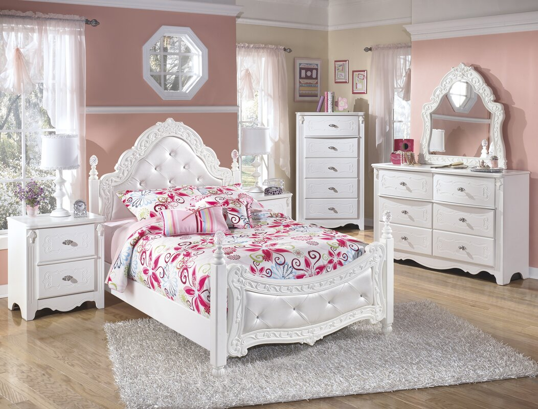 Viv + Rae Tiana Four Poster Configurable Bedroom Set & Reviews ...