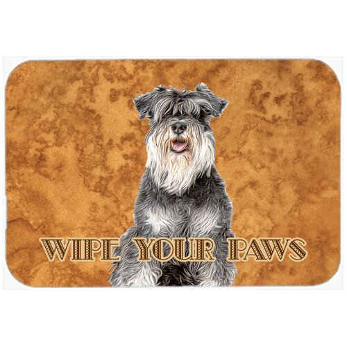 Large Multicolor Hot Pad or Trivet Carolines Treasures BB2820MP Dog House Collection Giant Schnauzer Mouse Pad