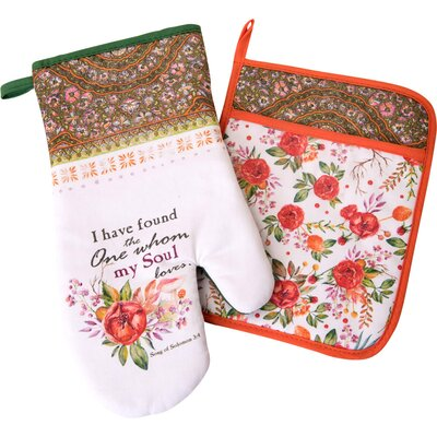 I Have Found The One 2- Piece Oven Mitt Set Carpentree