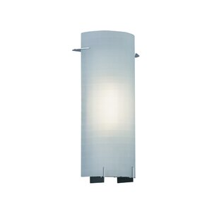 Affordable Price Bard Contemporary 1-Light Wall Sconce By Ebern Designs