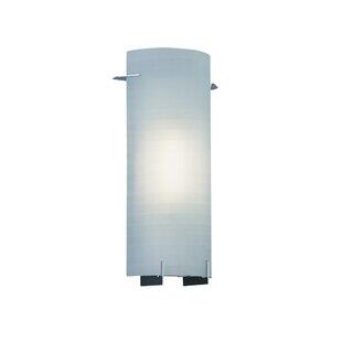 Price comparison Bard Contemporary 1-Light Wall Sconce By Ebern Designs
