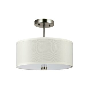 Magaret 2-Light Semi-Flush Mount by Red Barrel Studio