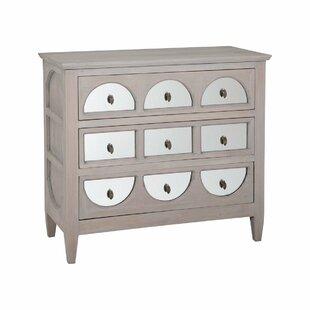 AhmedFarhan 3 Drawer Dresser by Bloomsbury Market