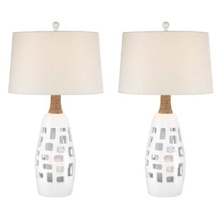 Resendez Transitional Coastal 32 Table Lamp (Set of 2)