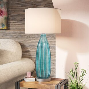 Check Prices Drew Sea Breeze 31.5 Table Lamp By Bungalow Rose