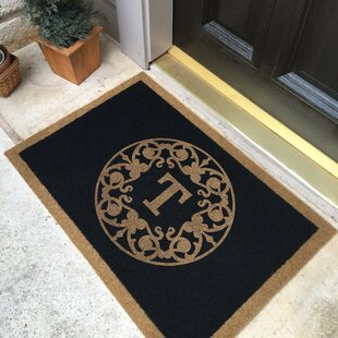 Kaufman All-Weather Personalized Non-Slip Outdoor Door Mat By Canora Grey