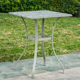 Staley Wicker/Rattan Balcony Table