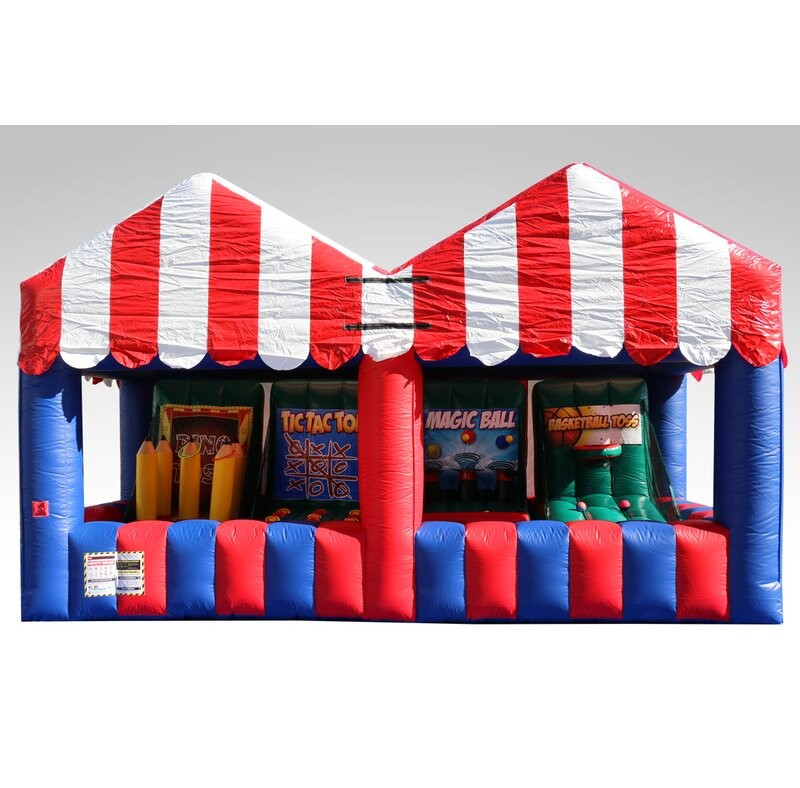 20ad5a40de EZInflatables Carnival Game Bounce House | Wayfair
