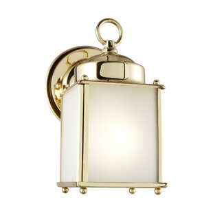 Charlton Home Aubree LED Outdoor Wall Lantern