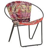 Beyond 27.17 W Cotton Papasan Chair by Bungalow Rose
