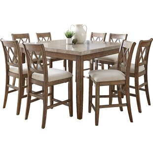 Clearmont 9 Piece Dining Set Three Posts