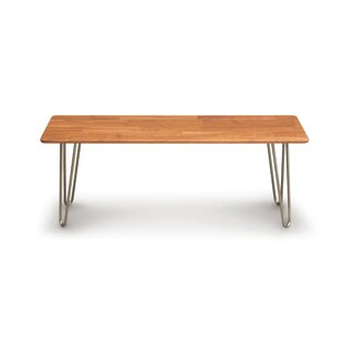 Copeland Furniture Essentials Wood Bench