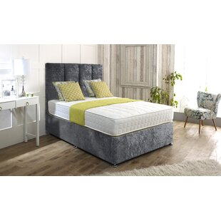 Hutson Upholstered Divan Bed And Headboard By Rosdorf Park