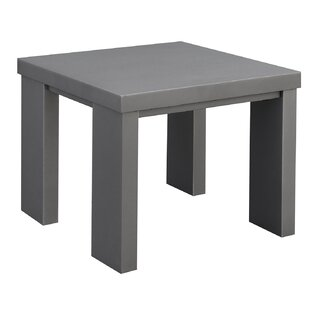 Vanzandt Aluminum Framed End Table by Orren Ellis