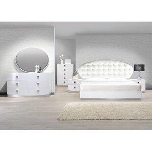 Orren Ellis Rachna Upholstered Platform Configurable Bedroom Set