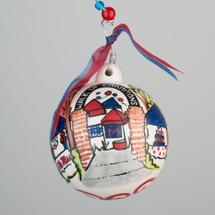 Ole Miss Grove Ball Ornament ByGlory Haus