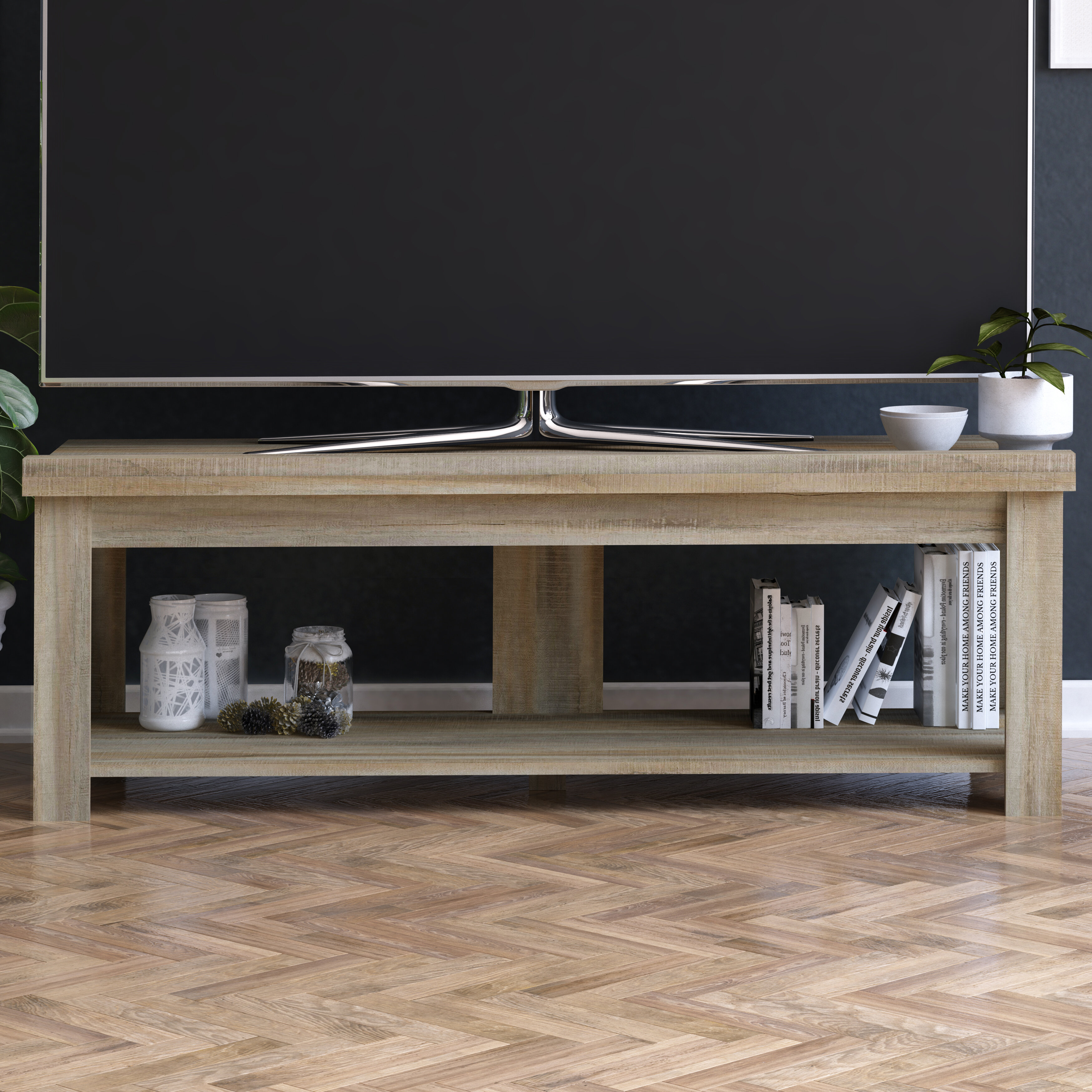 Gracie Oaks Vandever Tv Stand For Tvs Up To 60 Reviews Wayfair