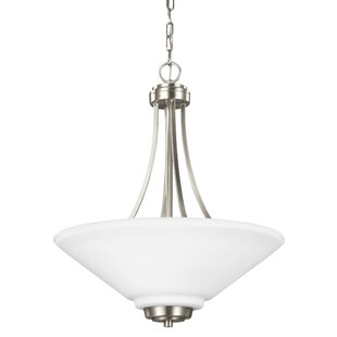 Latitude Run Atami 3-Light Bowl Pendant
