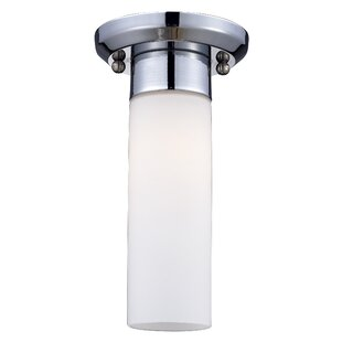 Orren Ellis Jorden 1-Light Flush Mount