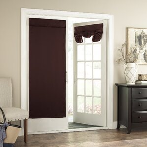 Perfect Cantor Collection Solid Room Darkening Tab Top Single Curtain Panel