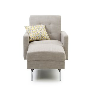 Portland Armchair And Footstool By Ebern Designs