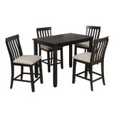 Abitante 5 - Piece Counter Height Dining Set by Red Barrel Studio®
