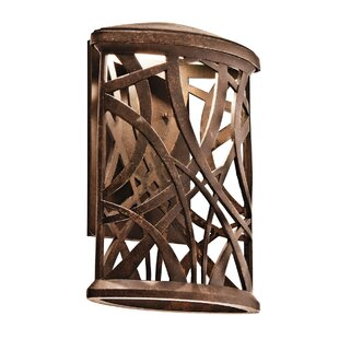 Guzik 1-Light Outdoor Flush Mount by Fleur De Lis Living