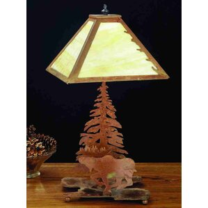 Moose On The Loose 21 Table Lamp