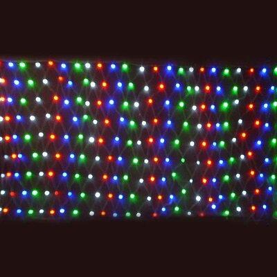 Queens of Christmas 240 Light Net Light Bulb Colour: 4 Multi