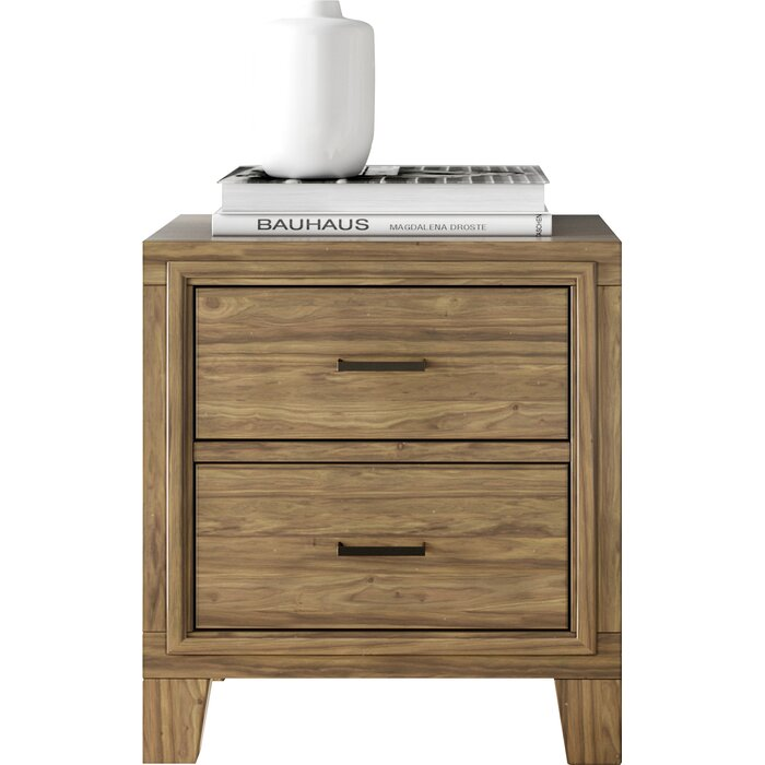 timeless design 843b1 cc488 Krum 2 Drawer Nightstand