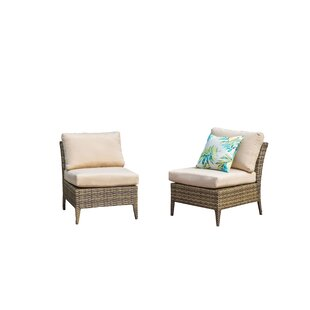 Southport Outdoor 2 Piece Sectional Seating Group with Cushions