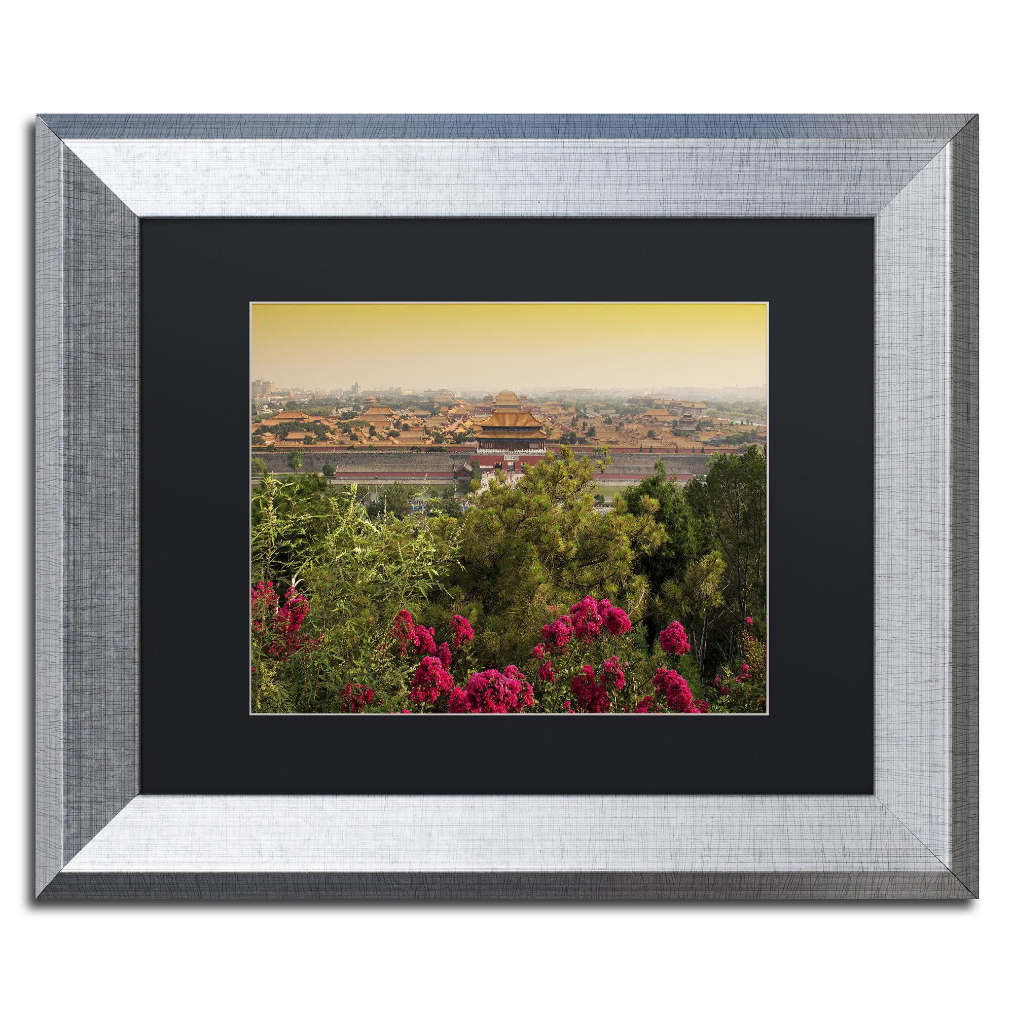 Trademark Art Rising Sun By Philippe Hugonnard Framed Photographic Print Wayfair