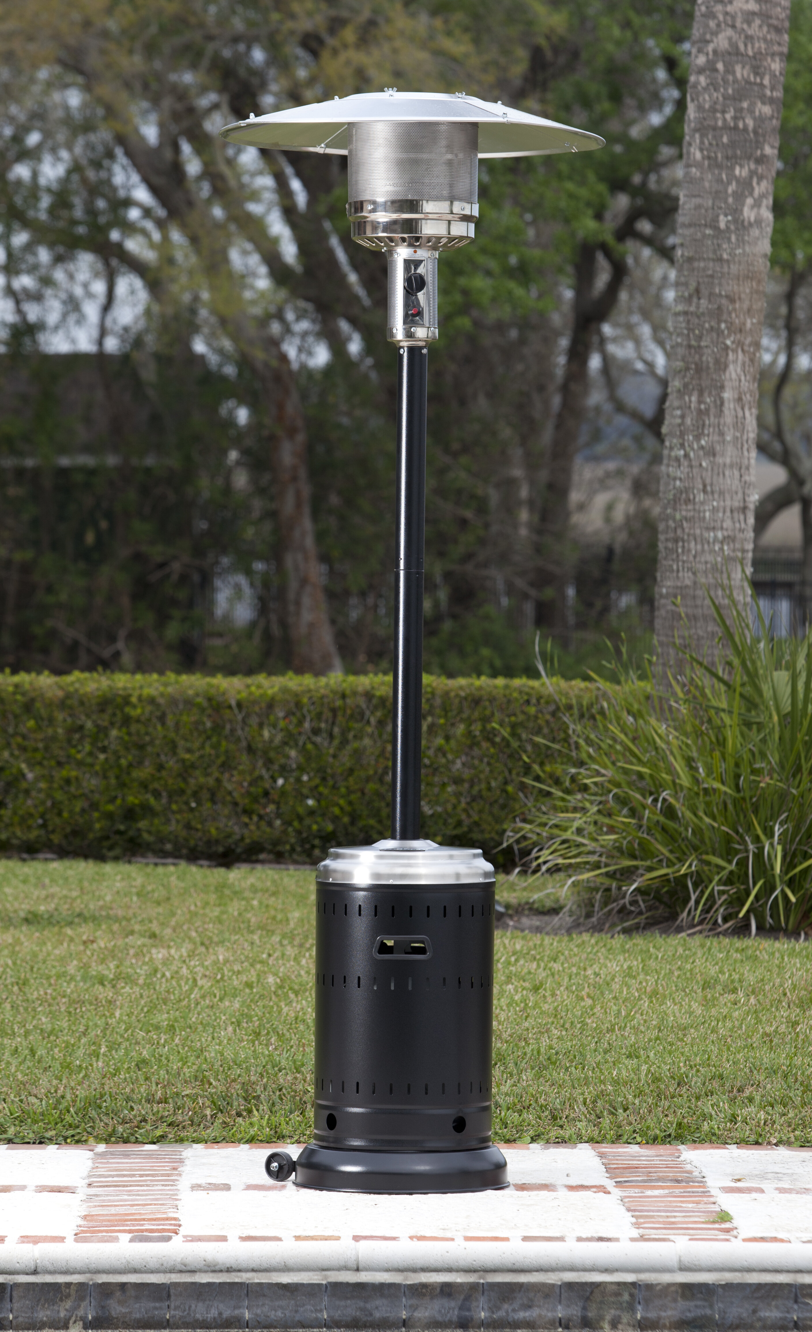 Fire Sense Hammer Tone & Stainless Steel mercial 46 000 BTU