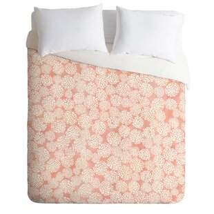 East Urban Home Dahlias Duvet Cover Set