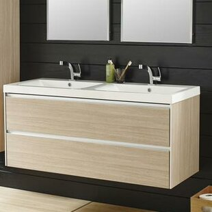 Erin 1200mm Wall Mount Vanity Unit By Hudson Reed