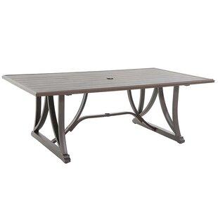 Indigo Metal Dining Table by Royal Garden