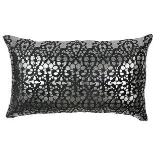Paisley Scaled Cotton Throw Pillow