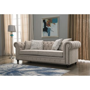 Darby Home Co Lunceford Chesterfield Sofa