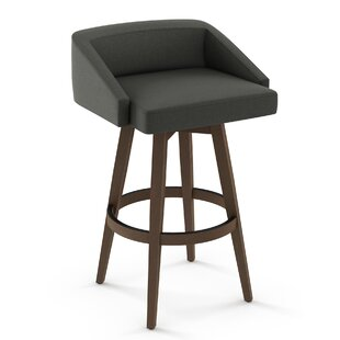 Leesa 30 Swivel Bar Stool by Brayden Studio Savings