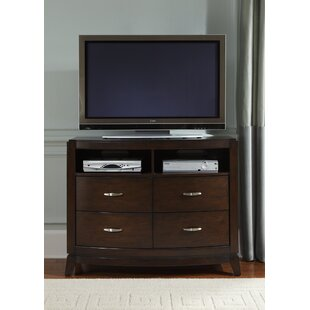 Affordable Loveryk 4 Drawer Media Chest by Darby Home Co
