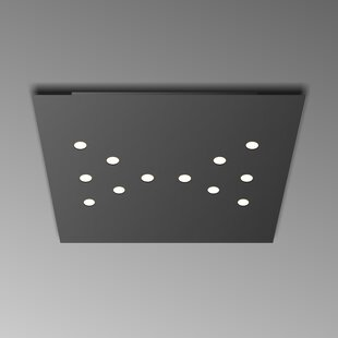 ZANEEN design 12-Light Flush Mount