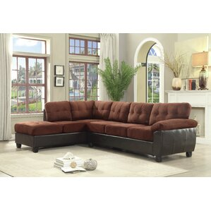 Andover Mills Childress Reversible Sectional